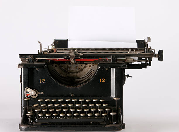 retro typewriter​​​ foto
