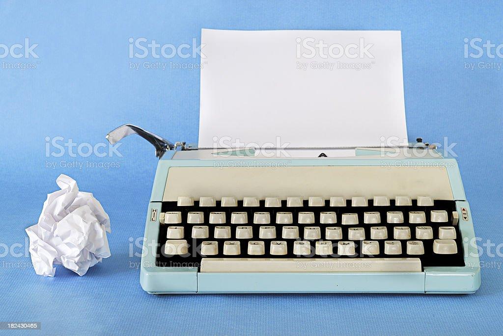 Retro Typewriter royalty-free stock photo