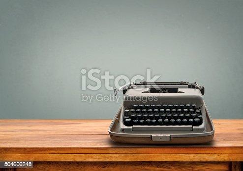 504606248 istock photo retro Typewriter 504606248