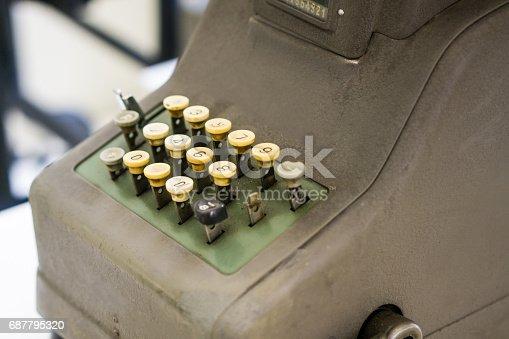 504606248 istock photo Retro Typewriter 687795320