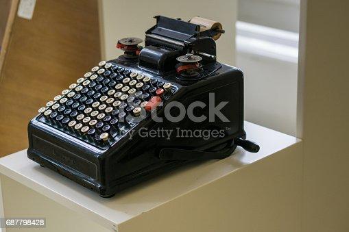 504606248 istock photo Retro Typewriter 687798428