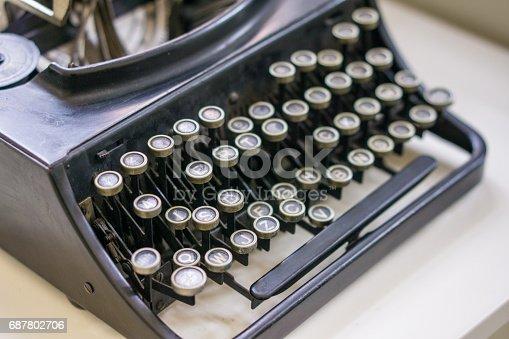504606248 istock photo Retro Typewriter 687802706