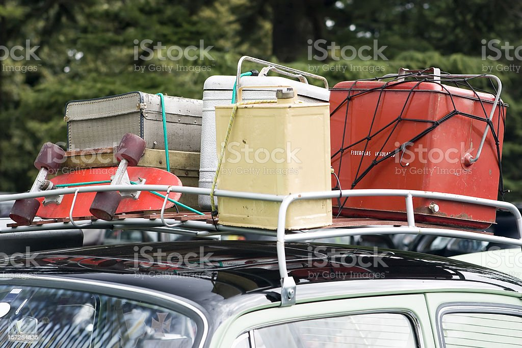 retro vacation royalty-free stock photo