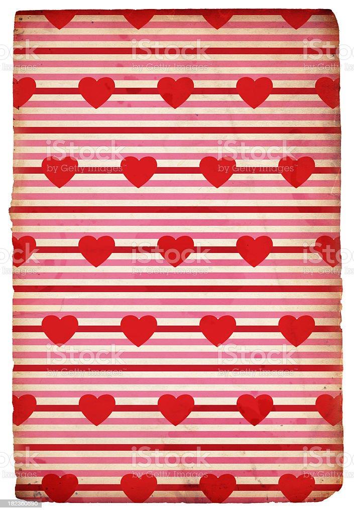 Retro Valentine Background (XXXL) royalty-free stock photo