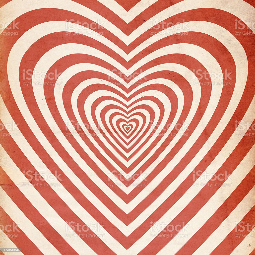 Retro Valentine Paper XXXL stock photo