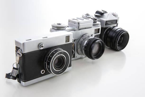 Retro Vintage Camera stock photo