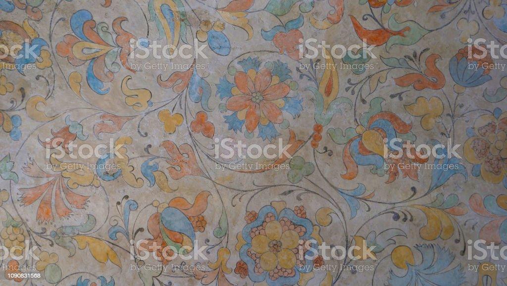 Photo Libre De Droit De Peinture Murale Retro Vintage Mur