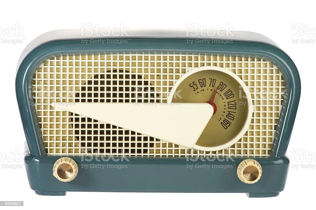 Retro Vintage Radio stock photo