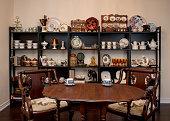 Retro / Vintage style tea room,