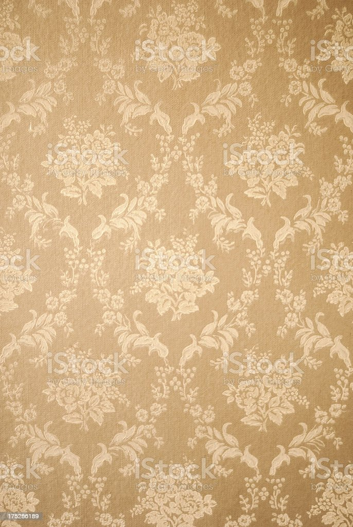 Retro Wall Paper stock photo