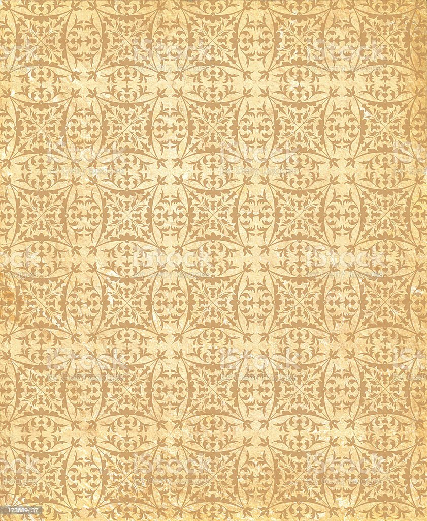 Retro Wallpaper stock photo