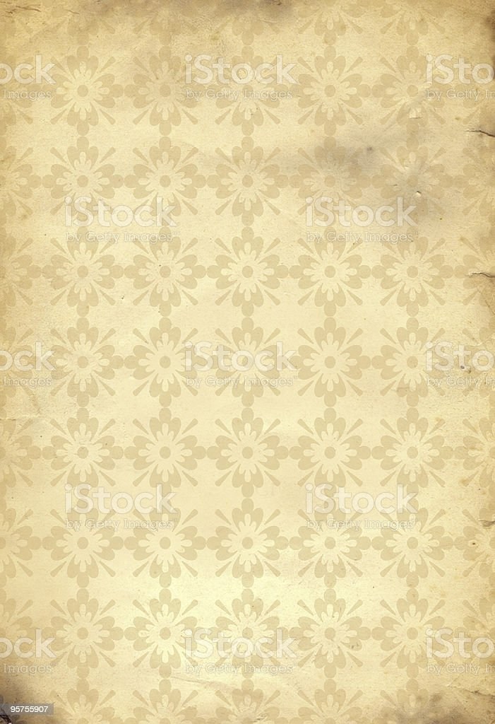 Retro Wallpaper royalty-free stock photo