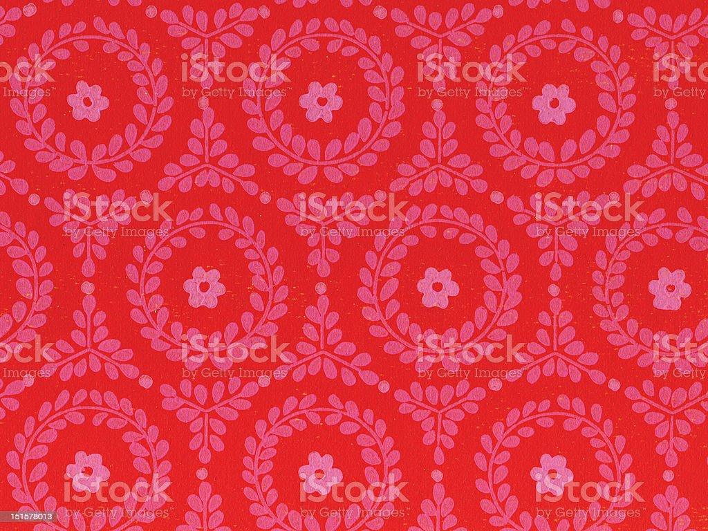 retro wallpaper texture 1970 original XXXXL royalty-free stock photo