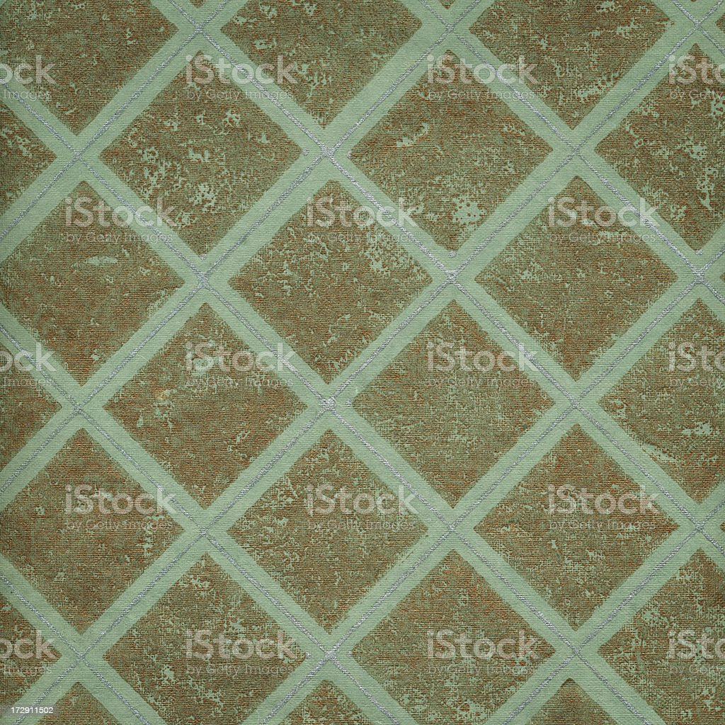 retro wallpaper with metallic effect royalty-free stock photo