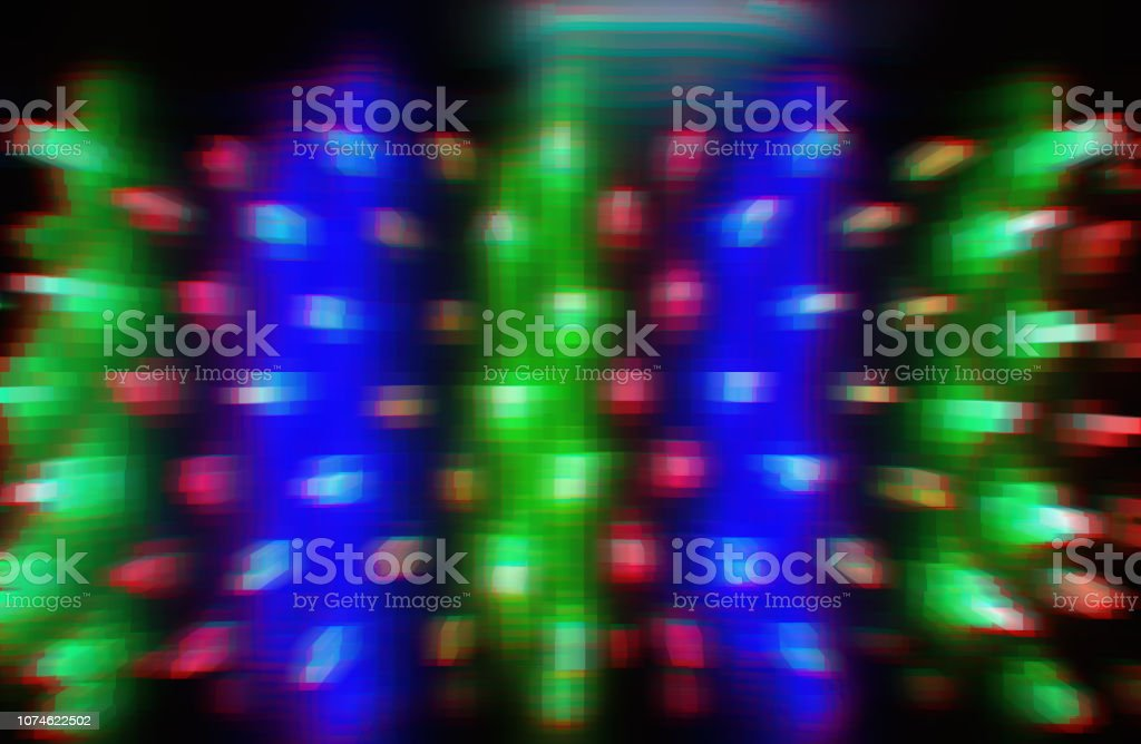 Retro wave vcr 3d extruded cubes abstraction background stock photo