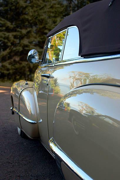 Retro wheels stock photo