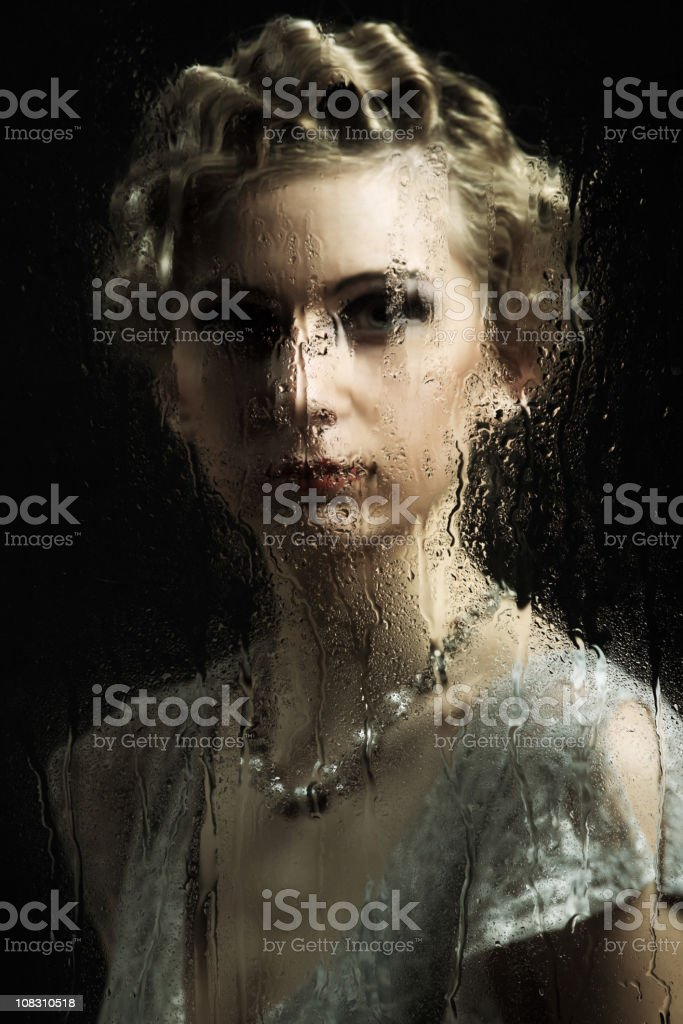Femme rétro - Photo