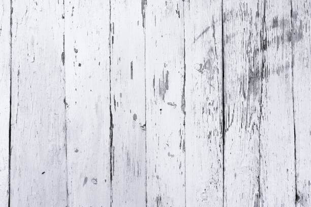 retro wooden wall whitewash lime, modern style, weathered cracky messy wooden backdrop, vintage background for design - whitewashed stock photos and pictures