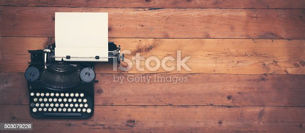 istock retro writers desk hero header 503079226