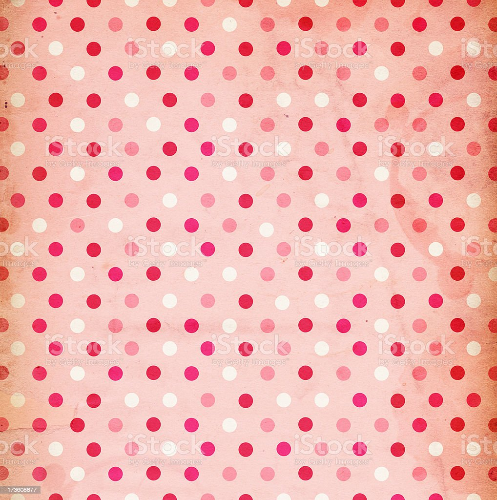 Retro-Patterned Valentine's Paper XXXL royalty-free stock photo