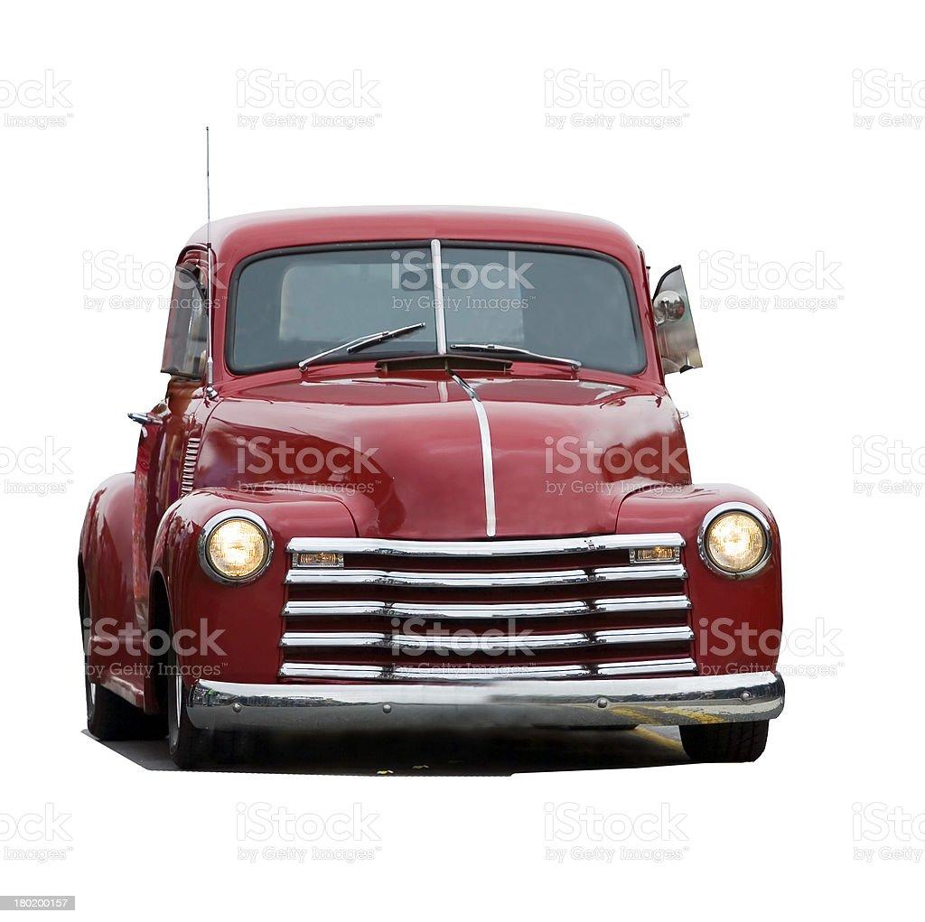 Retro-styled car royalty-free stock photo