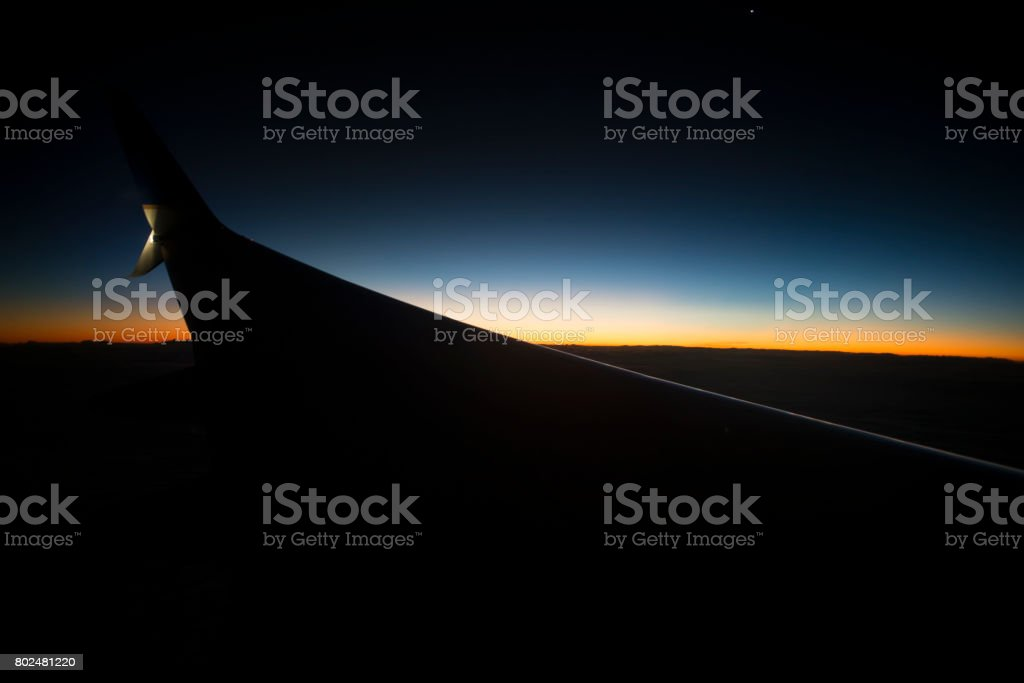 Return Horizon stock photo