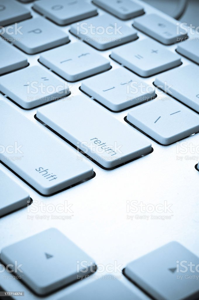 Return Key royalty-free stock photo