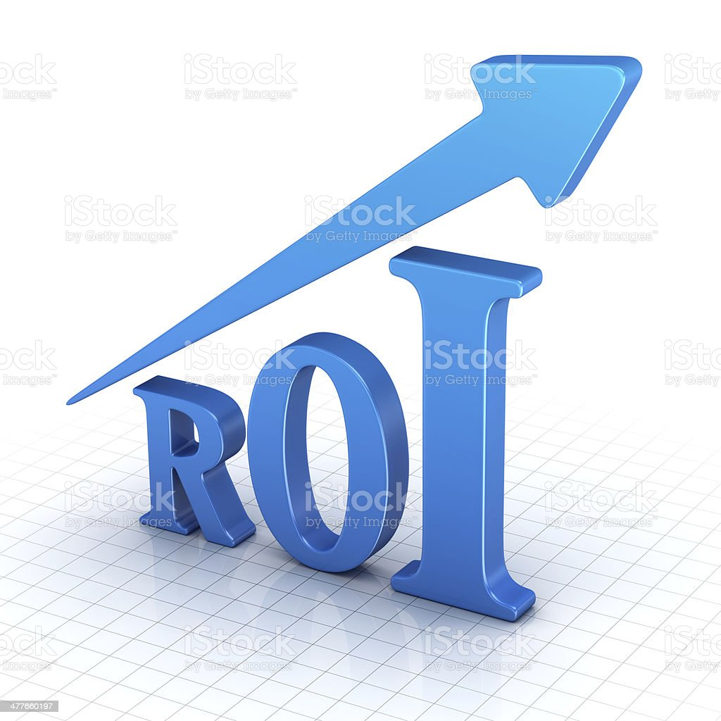 Return on Investment royalty-free stock photo