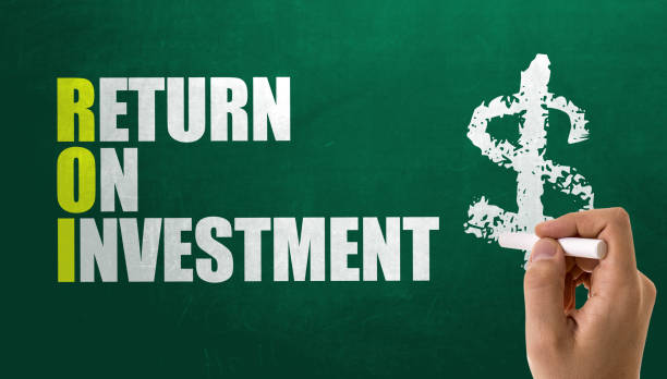 ROI - Return on Investment stock photo