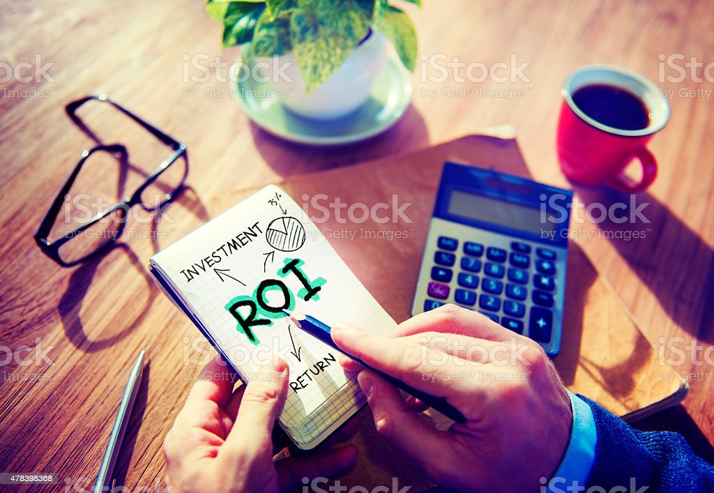 Return On Investment Word Concept stock photo