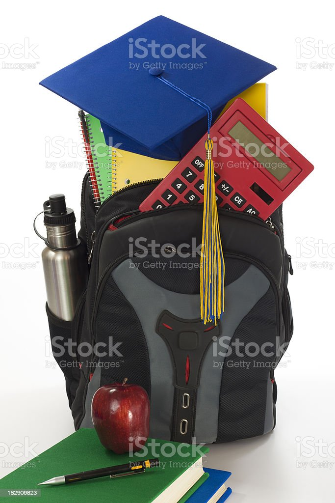 Returning to School royalty-free stock photo