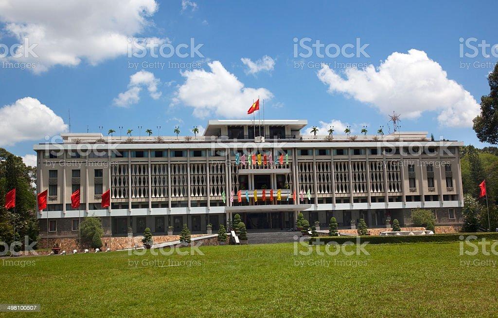 Reunification Hall, Presidential Palace Saigon Vietnam stock photo