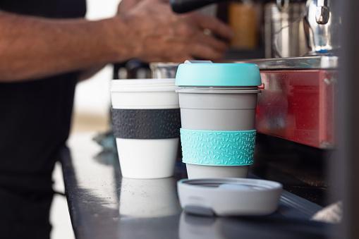 Återanvändbar Kaffekopp-foton och fler bilder på Ansvarsfullt företagande