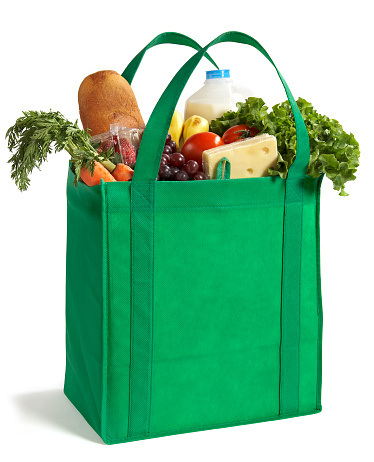 istock Reusable Eco Friendly Grocery Bag 157427761