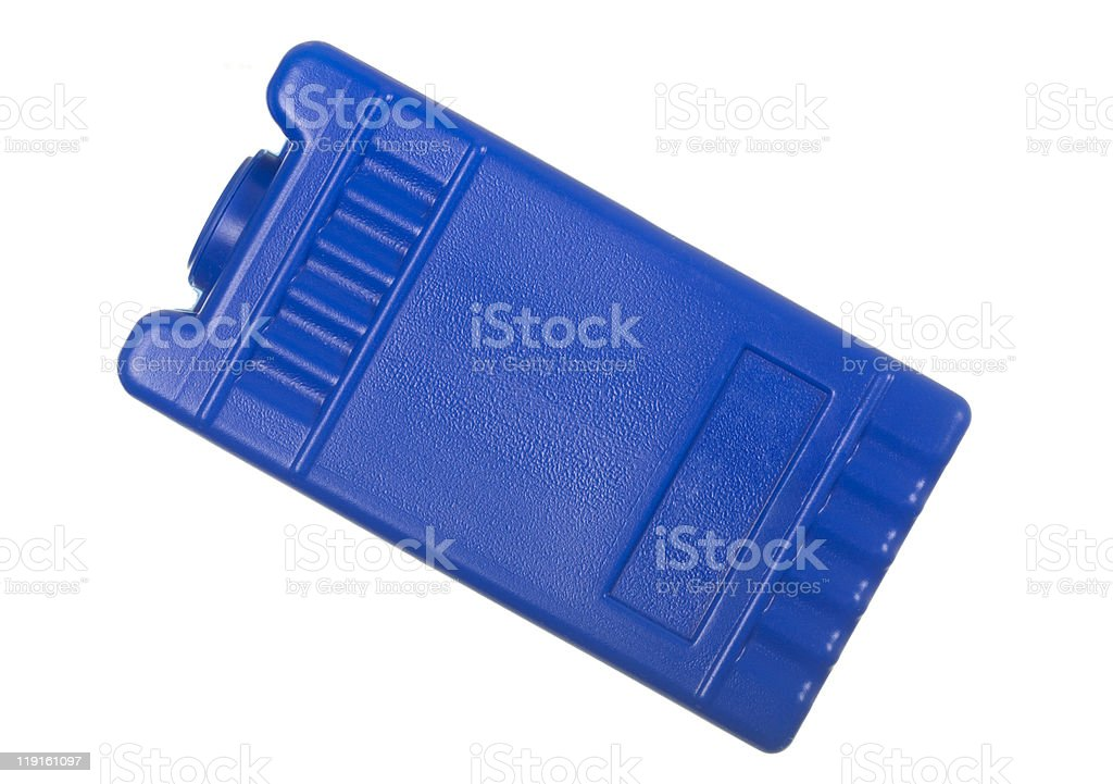 Reusable Ice Substitute Pack royalty-free stock photo
