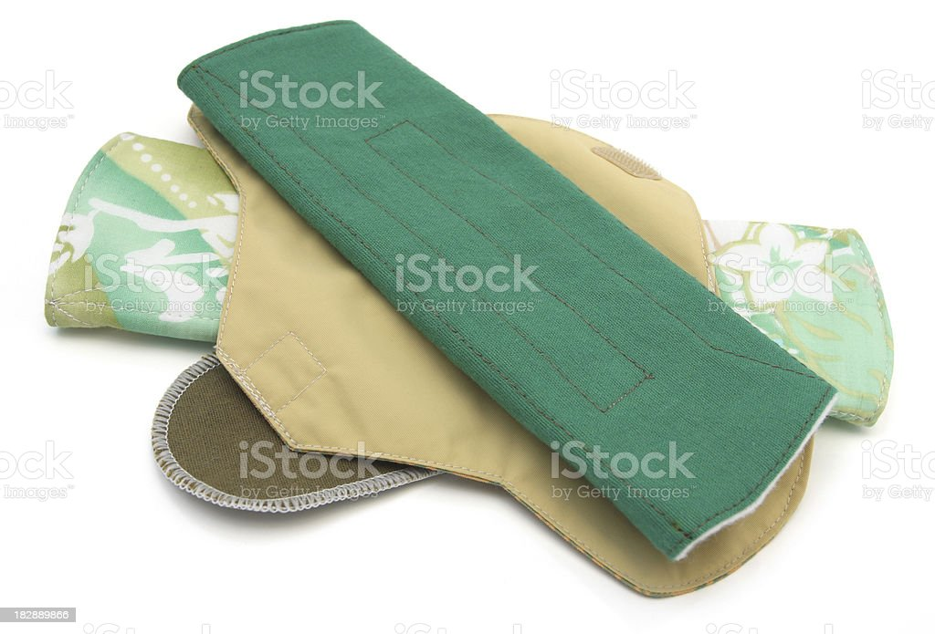 Reusable Sanitary Towels stock photo