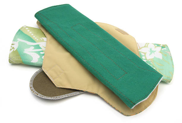 reusable sanitary towels - sanitary pad stock photos and pictures