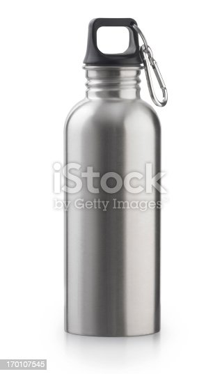 A reusable stainless steel water bottle for better health and a better earth.