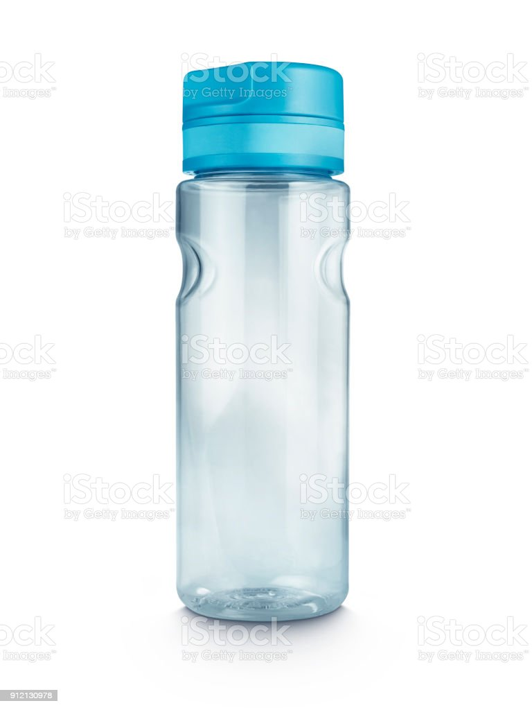reusable water drink bottle stock photo