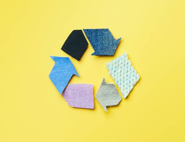 reuse, reduce, recycle concept background - riutilizzabile foto e immagini stock