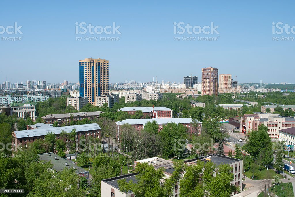 Reutov (northern part) stock photo