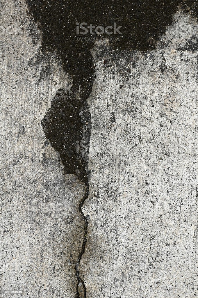 revealing crack stock photo