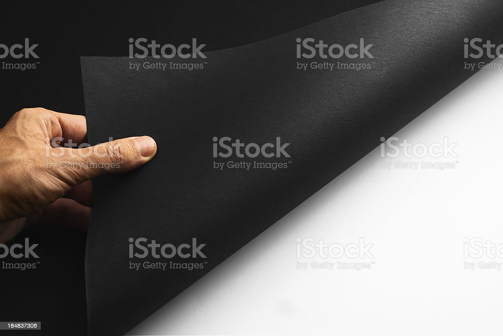 Revealing... royalty-free stock photo
