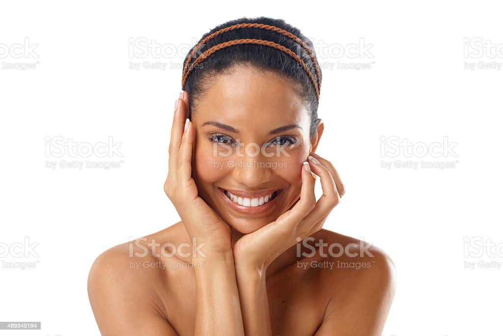 Revel in your beauty stock photo