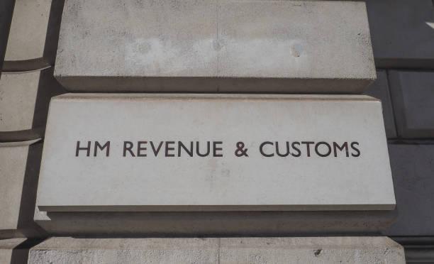 Receita HM e alfândega assinam em Londres - foto de acervo