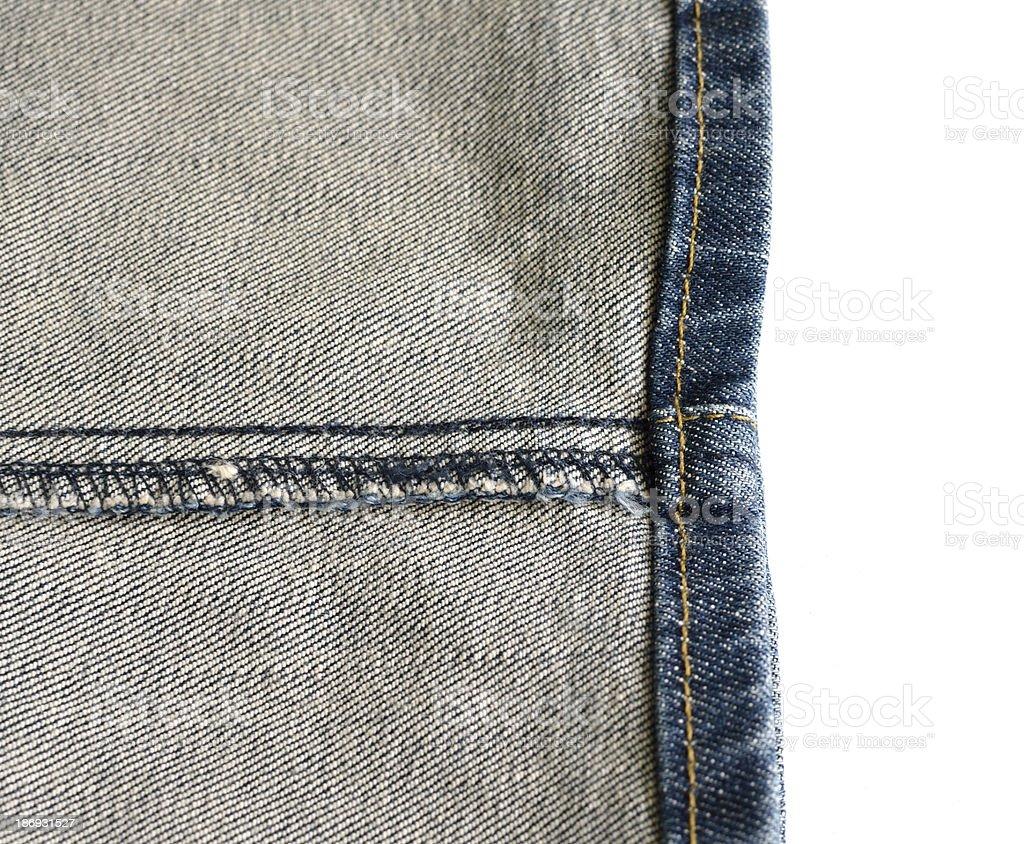 reverse a rim leg jean stock photo