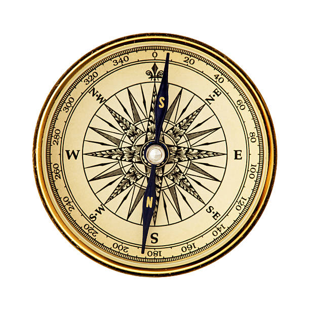 reverse pole compass - photo reverse search stock pictures, royalty-free photos & images