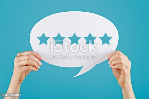 1130633985 istock photo Review concept on speech bubble 1161036883