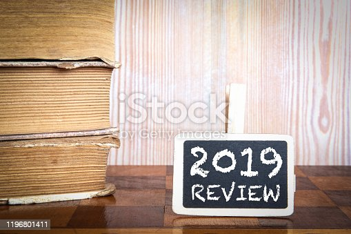 istock 2019 review. Survey, Audit, Social Media, Marketing and Business concept 1196801411
