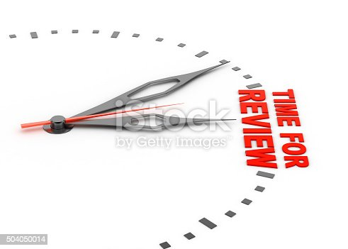 istock Review time concept 504050014